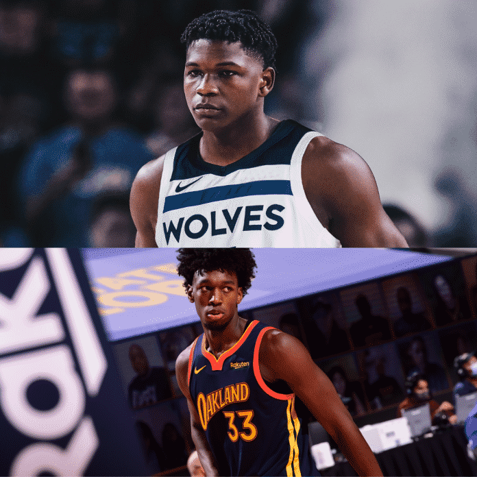 Anthony Edwards and James Wiseman, both, have had an immediate impact on their teams.