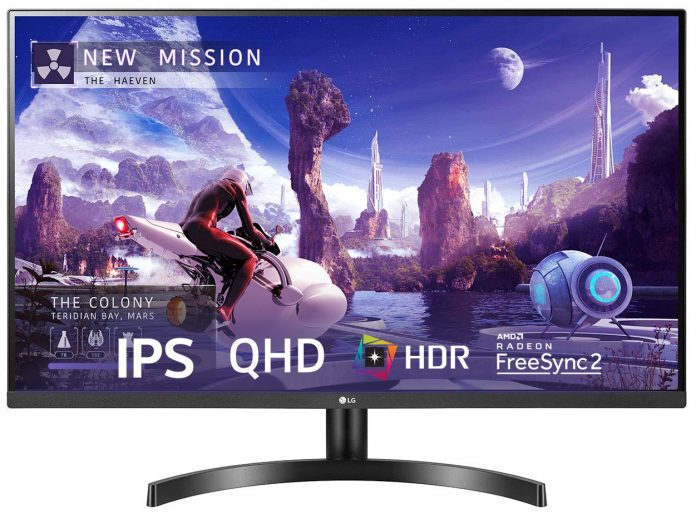 Deal: LG QHD (2560 x 1440) 27 Inch IPS Display 3 Side Borderless Gaming Monitor discounted
