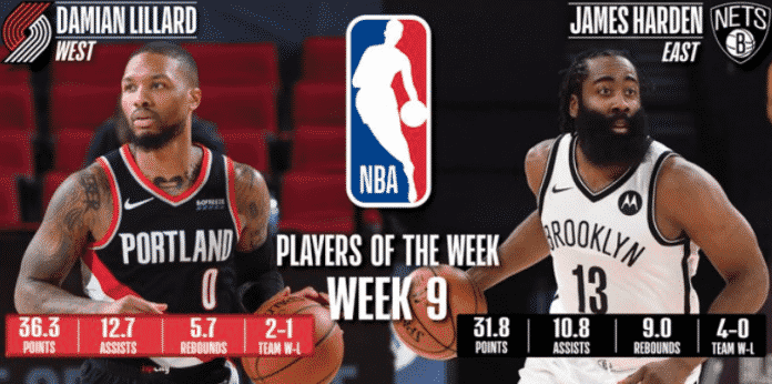 Both, Damian Lillard and James Harden are in tremendous form for their teams.