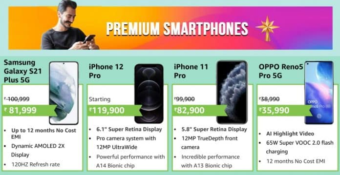 Amazon Fab Phone Fest: Offers and Discounts on Premium smartphones