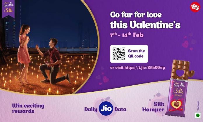 Jio brings new JioEngage Cadbury Silk V-Day offer