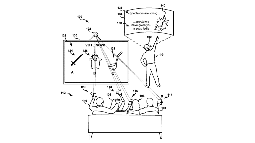 Playstation's new patent allows spectators to interact with players