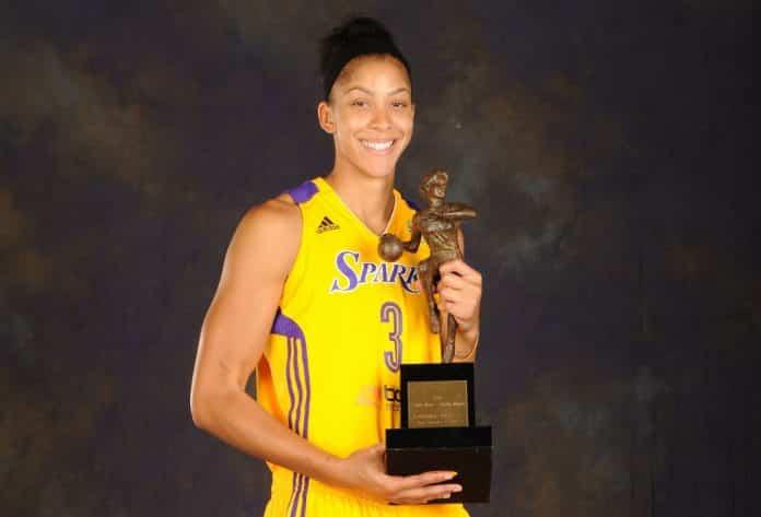 Candace Parker is a 2-time WNBA MVP.