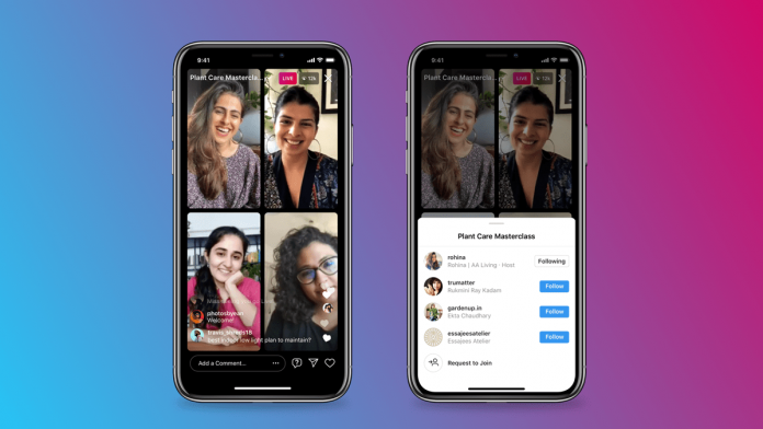 Instagram announces Live Rooms feature