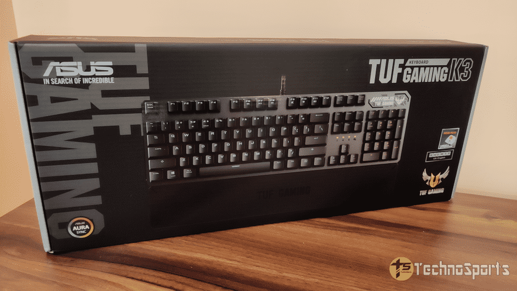 ASUS TUF K3 Mechanical Gaming Keyboard review: smooth, sturdy & reliable at budget