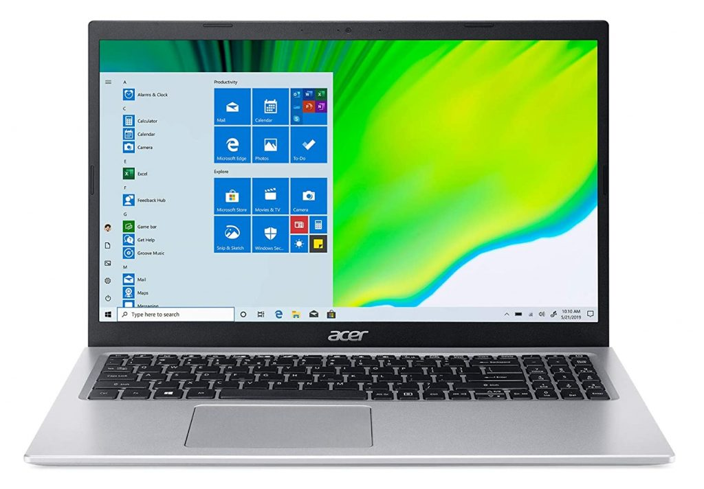 Acer Aspire 5 with Core i5-1135G7, 8 GB RAM & 512 GB SSD available for ₹ 51,290