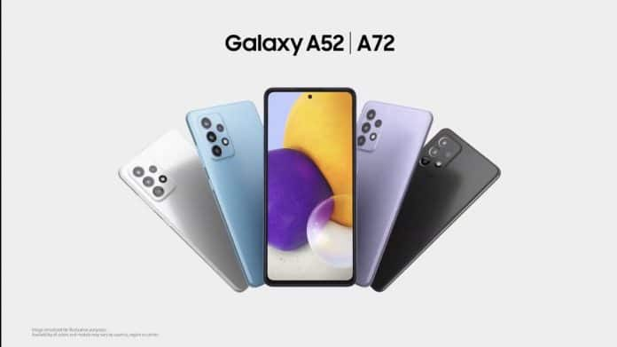Samsung Galaxy A52 and Galaxy A72 launched with Quad Rear Cameras and 90Hz display in India