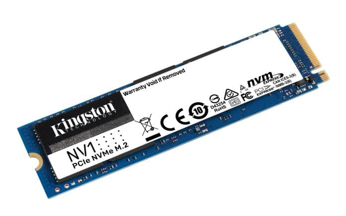 Kingston brings affordable NV1 NVMe SSD with up to 2 TB capacities & 2100 MB/s read speeds