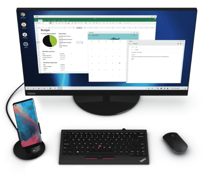 Motorola brings its 'Ready For' to compete with Samsung Dex