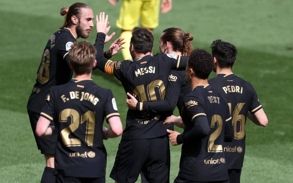 FC Barcelona is having an unstoppable LaLiga run in 2021