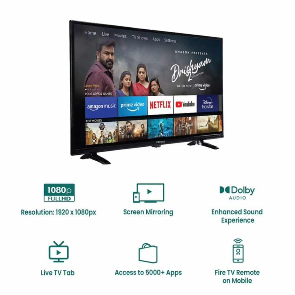 Croma launches new Smart TVs with Fire OS & built-in Alexa only on Amazon