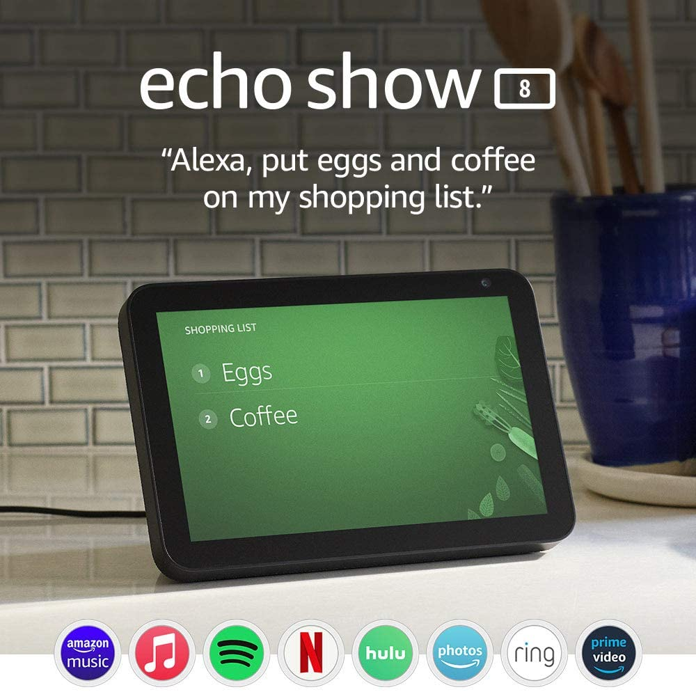 Deal: Amazon's Echo Show 8 available for just $104.99