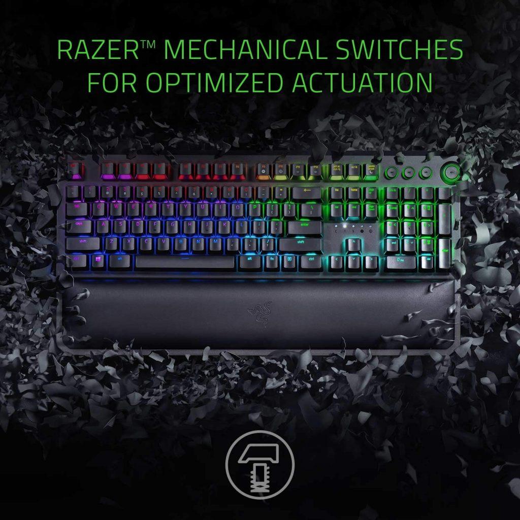 Razer BlackWidow Elite Mechanical Gaming Keyboard gets 41% discount
