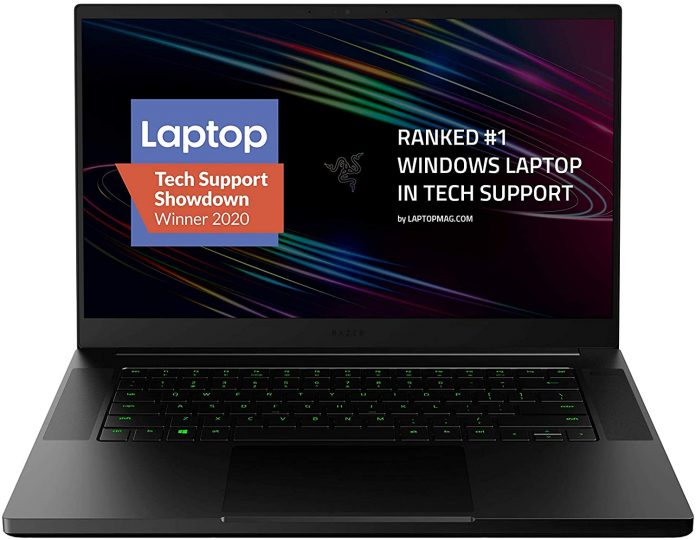 Razer Blade 15 gaming laptop with Core i7-10750H & RTX 2070 Max-Q available for just $1,499.99
