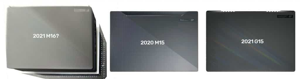 Upcoming Asus ROG Zephyrus M16 laptop spotted, specs leaked: sports Intel Core i9-11900H and GeForce RTX 3050 Ti