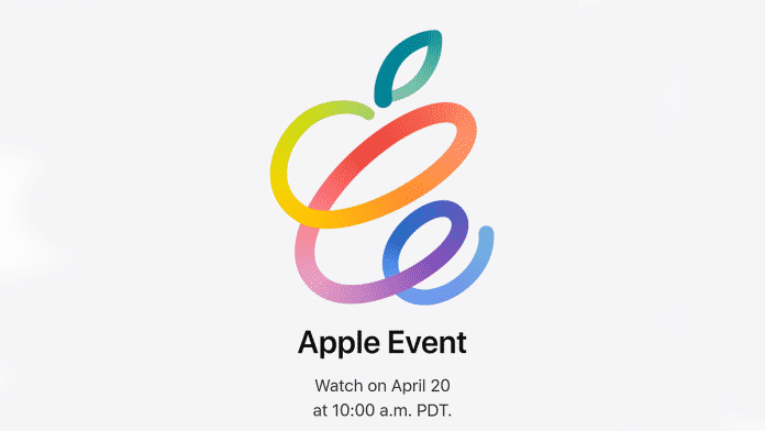 Apple Event officially confirmed on April 20