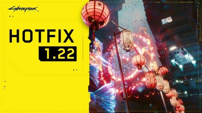 New Cyberpunk 2077 Hotfix 1.22 update brings much-needed improvements