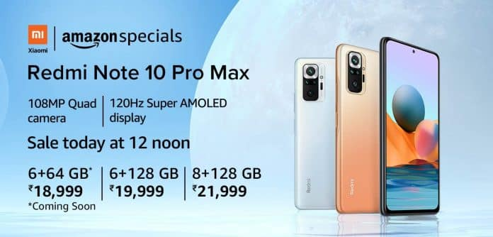 Here's how you can get Redmi Note 10 Pro Max for just ₹ 17,499 at 12 PM today