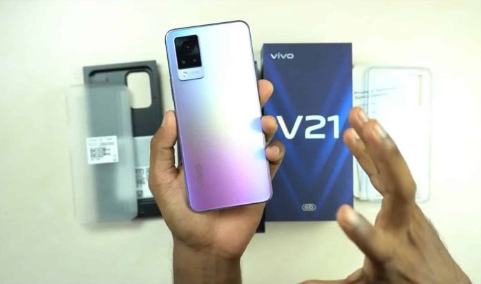 Vivo V21 5G Unboxing video and Price has surfaced ahead of April 29 launch