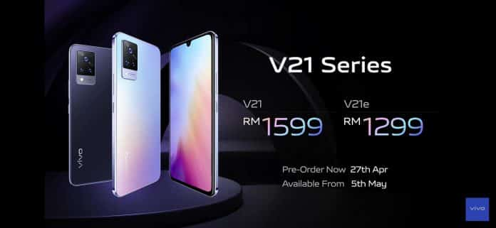 Vivo V21 series launched in Malaysia with stunning front-camera