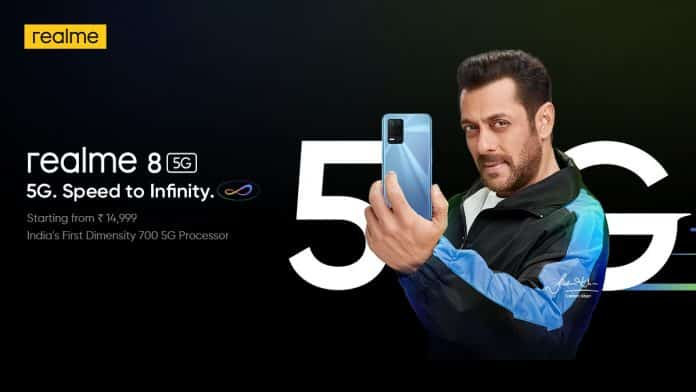 Realme 8 5G launched in India starting at Rs.14,999