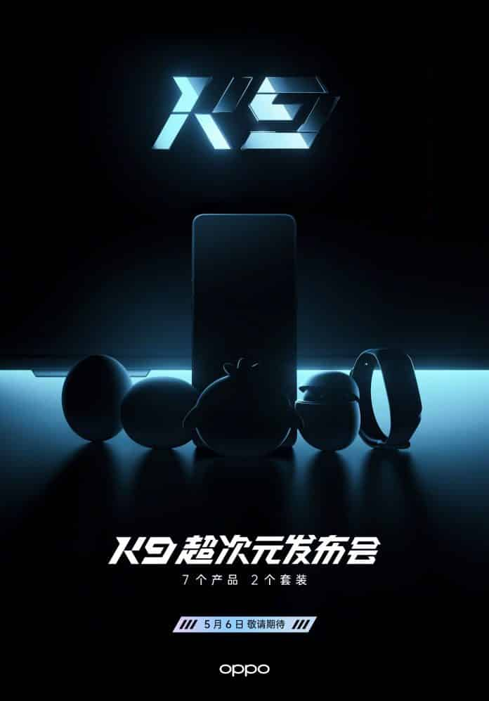 Oppo will Launch 7 new Products on 6th May