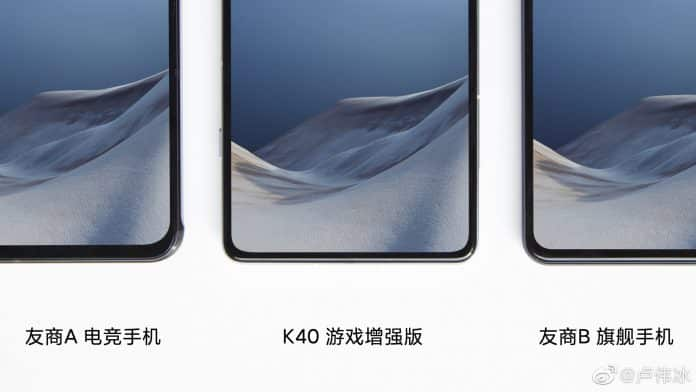 Redmi K40 Game Enhanced Edition bezels are the thinnest of all Gaming Phones out there