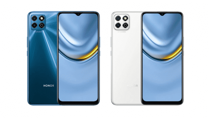 Honor Play 20 launched with Unisoc T610 and a 5,000mAh battery