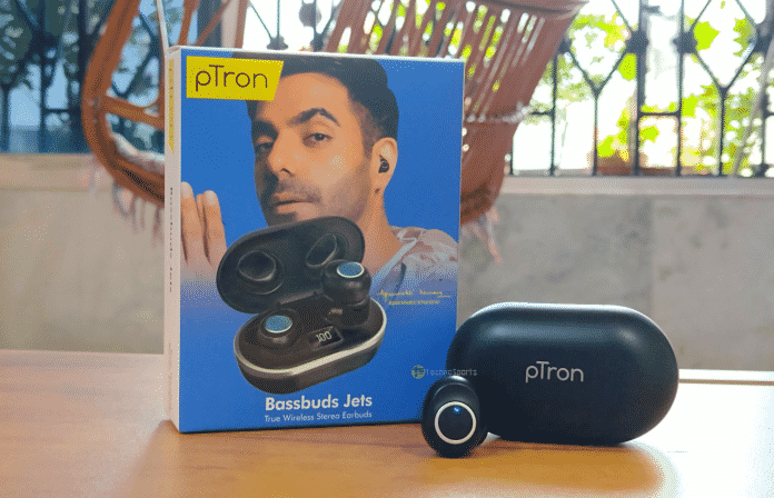 The new pTron Bassbuds Jets is a must-buy under ₹900 in India