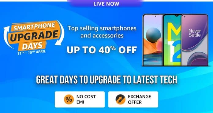 Amazon.in announces Smartphone Upgrade Days