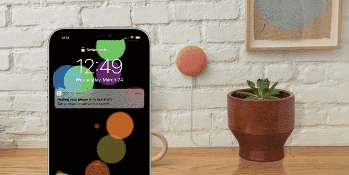 Google Assistant can now help find your lost iPhone