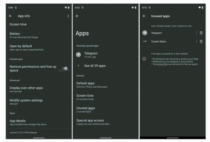 Android 12's Hibernate feature will automatically make unused apps sleep