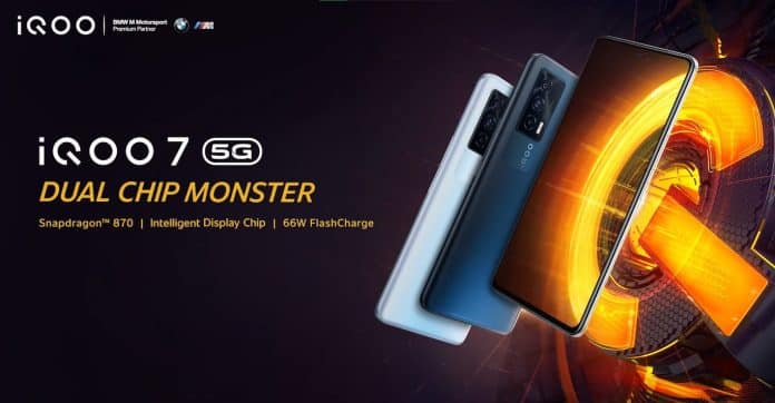 iQOO 7 5G: More official details ahead of April 26 launch