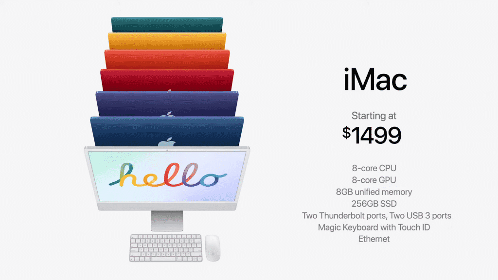 Apple launches new 24-inch iMac with the new M1 chip, starts at ₹ 1,19,900
