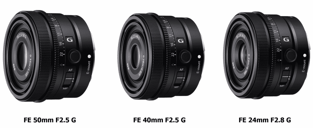 Sony Introduces Three New High-Performance G Lenses to Full-Frame Lens Series_TechnoSports.co.in
