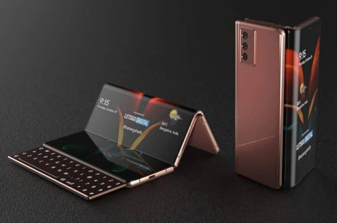 Samsung preparing to launch its 'tri-folding tablet' in 2022