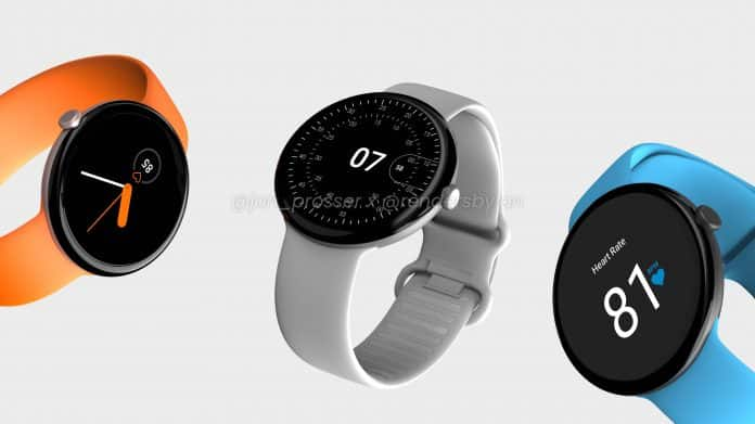 Google Pixel Watch renders are out, the design looks too good to be true
