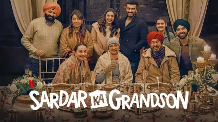 """""""Sardar Ka Grandson"""": The Official trailer of the family Drama has been released"""