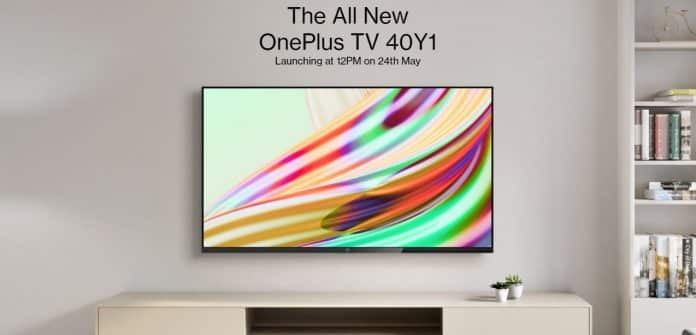 OnePlus TV 40Y1 Launching on 24th May in India