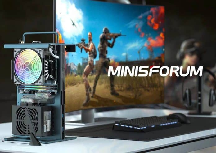 Minisforum announces its first true gaming mini-PC