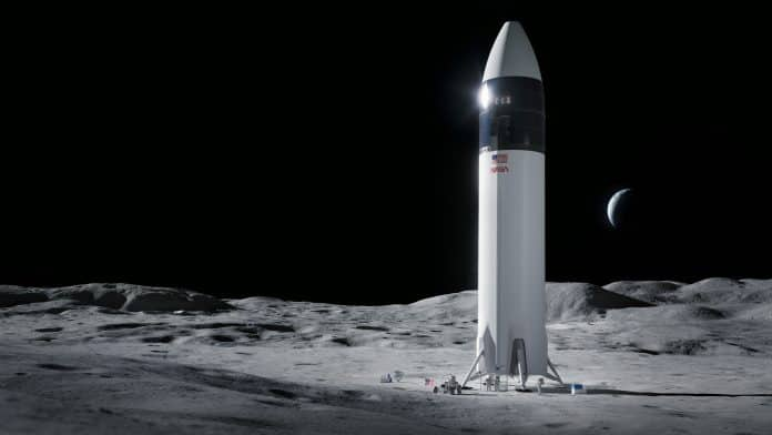 SpaceX's Human Landin System word suspended by NASA due to an investigation
