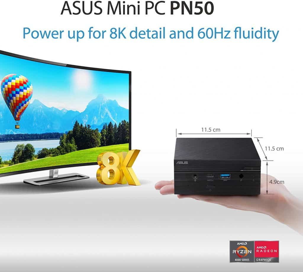 ASUS Mini PC PN50 with AMD Ryzen 3 4300U & Wi-Fi 6 now available for just ₹ 29,499