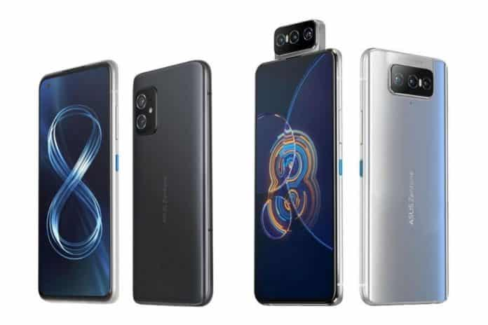 ASUS unveils Zenfone 8 series with Zenfone 8 and Zenfone 8 Flip at €599 and €799 respectively