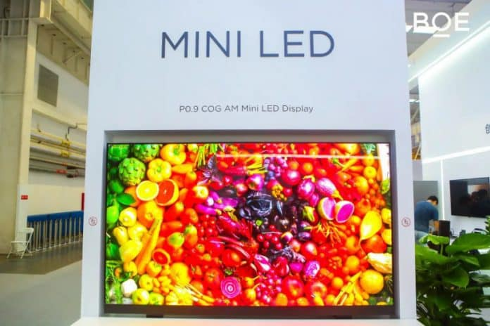 BOE's new-gen glass-based Mini LED capable to deliver 1000 nits brightness, 115% NTSC color gamut, and more_TechnoSports.co.in