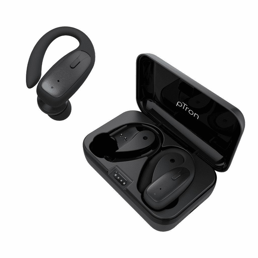 pTron debuts Bassbuds Sports TWS Earbuds with industry-leading 32 Hrs playback & USB C Fast charge just at 999/-