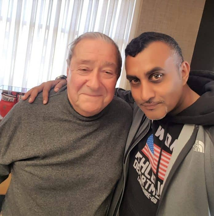 Muhammad Ali promoter Bob Arum stands in solidarity with India as the country fight against Covid-19