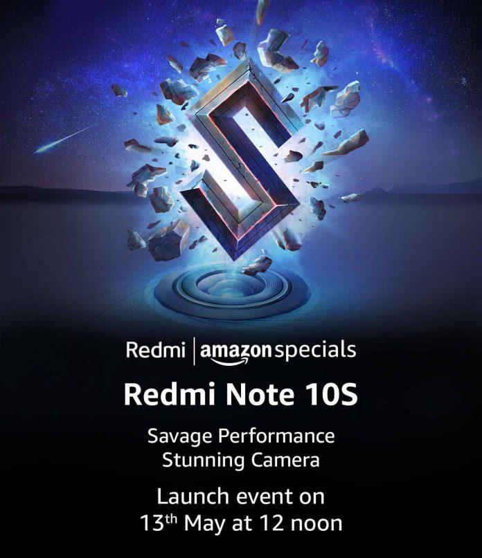Redmi Note 10S will be sold via Amazon in India