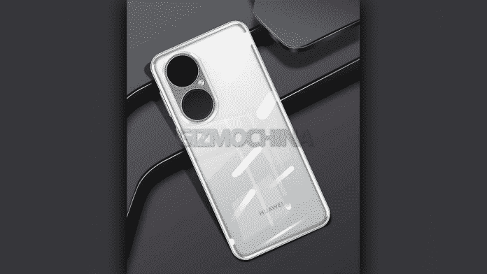 Huawei P50 case render shows a new camera and all-over design