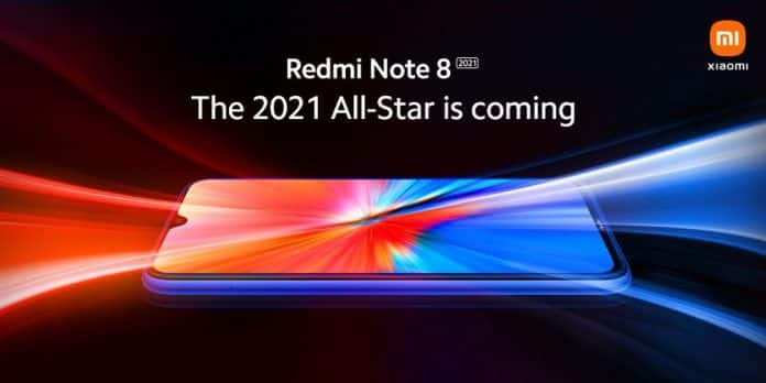 Redmi Note 8 2021 is coming soon