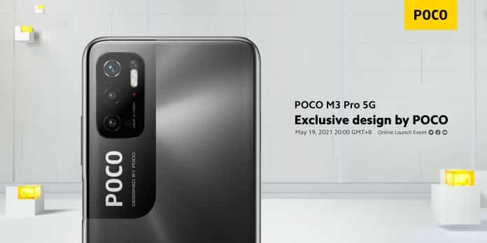 POCO M3 Pro 5G Official First Look